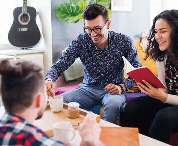 Geteilte Investition, doppeltes Glück: Hauskauf mit Freunden